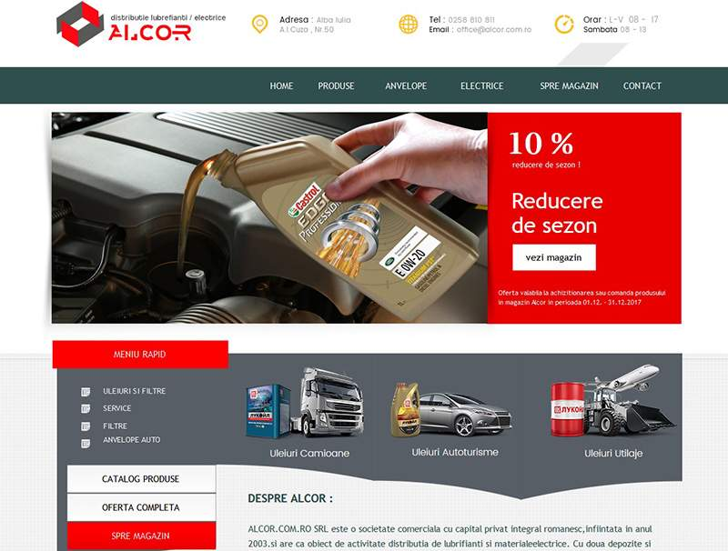 Web Design & Web Development Alcor