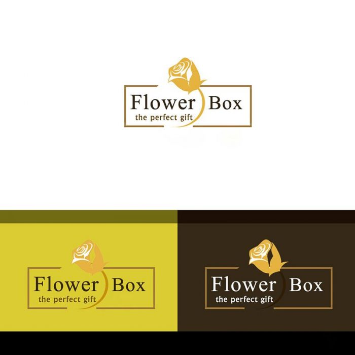 Logo Design Proposal - FlowerBox Hamburg