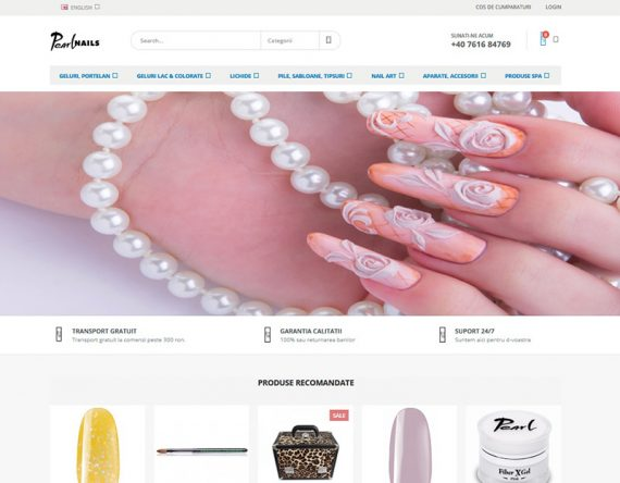 Magazin Online - Peral Nails Store